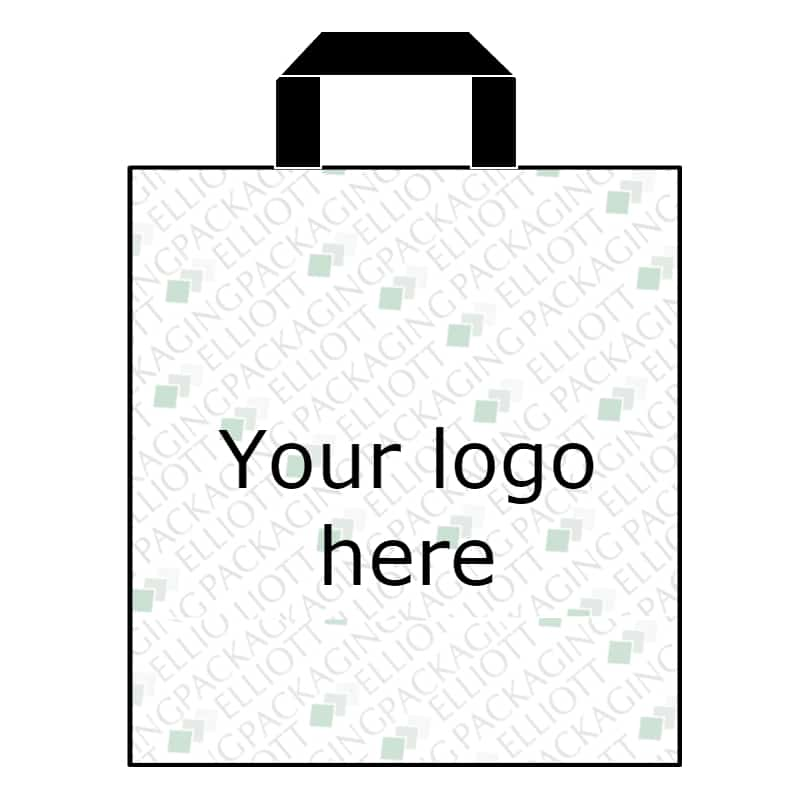 environmentally friendly packaging - patch handle carrier bags