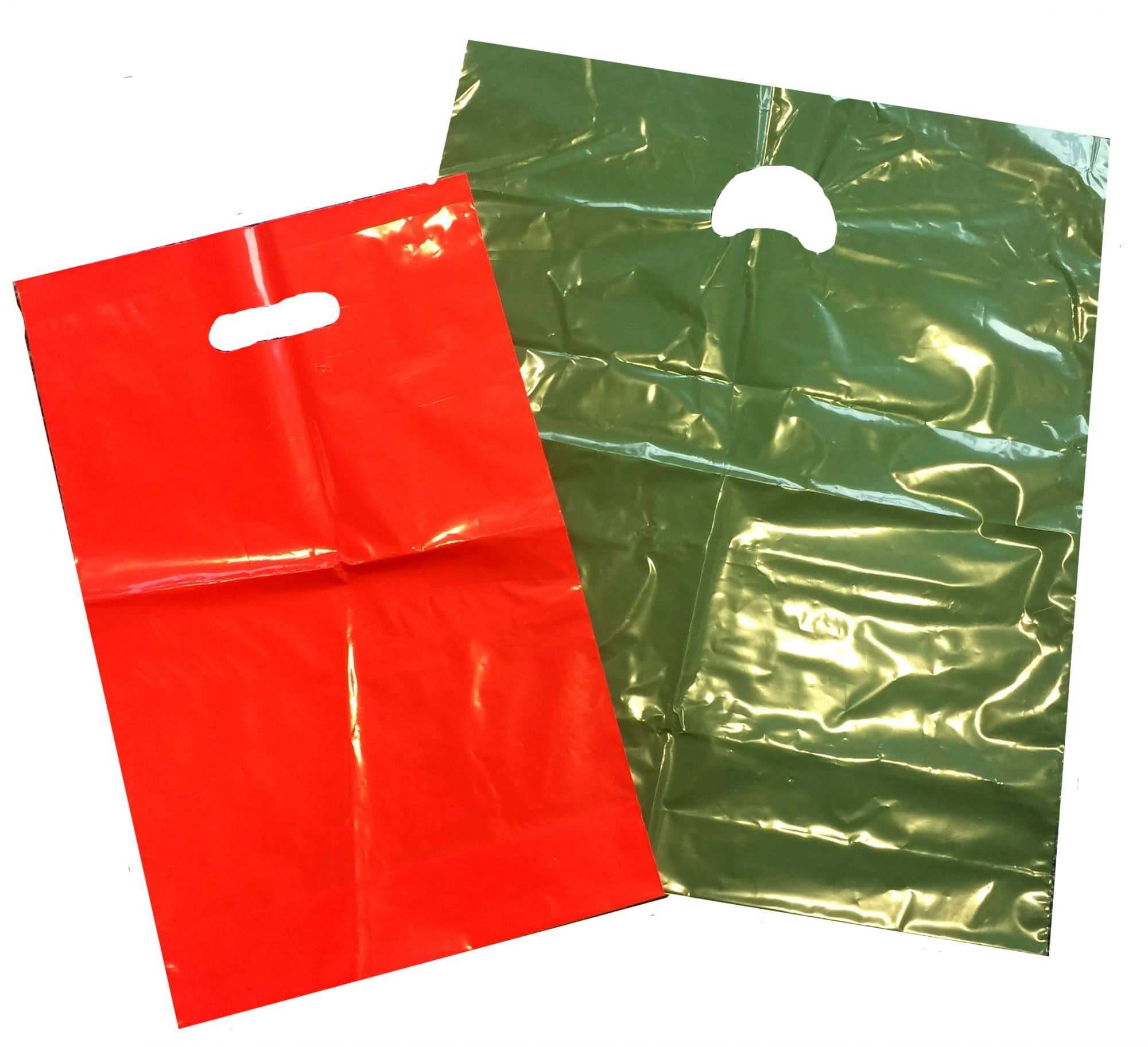 variguage plastic carrier bag