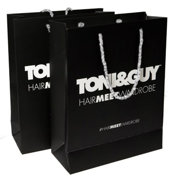 Toni & Guy Gift Bag Packaging