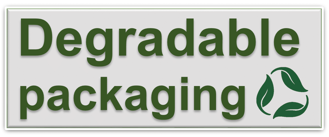 degradable packaging