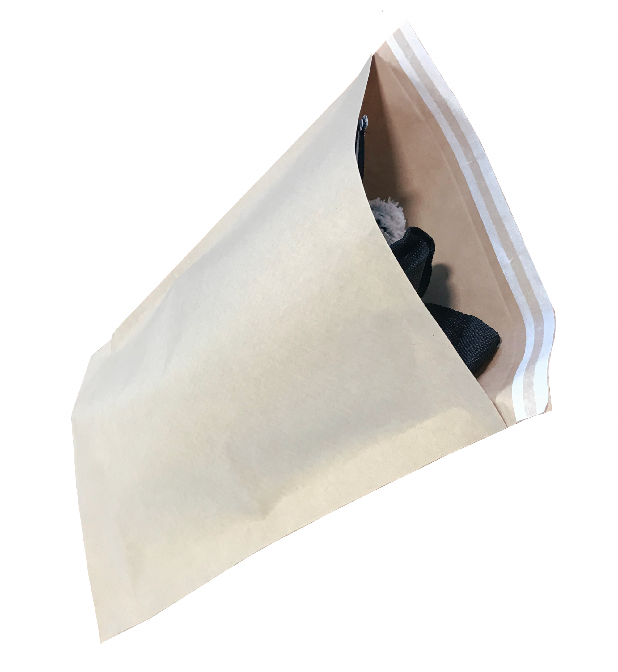 paper mailing bag. paper postal sack. eco friendly mailing bag. eco mailing sack. paper bag for the post.