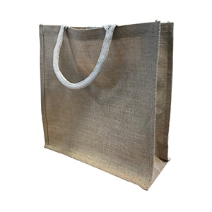jute tote bag packaging