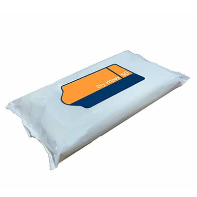 wet and dry wipe packaging