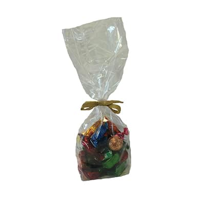 block bottom bags for sweets and confectionery